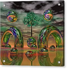 Land Of World 8624036 Acrylic Print by Betsy Knapp