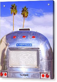 Land Yacht Palm Springs Acrylic Print by William Dey