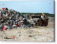 Landfill Site Acrylic Print