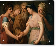 Landi Gaspare, The Marriage Of Sarah Acrylic Print by Everett