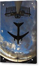 Landing At Lax  73a3680 Acrylic Print