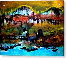 Landscape 121003-2 Acrylic Print by Aquira Kusume
