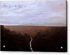Landscape 17 A Taos Nm Acrylic Print by Otri Park
