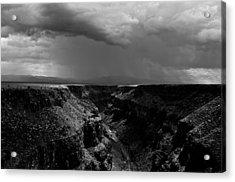 Landscape 17 C Taos Nm Acrylic Print by Otri Park