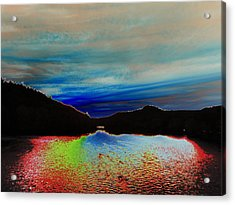 Acrylic Print featuring the photograph Landscape Abstract by Mike Breau