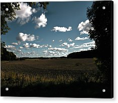 Acrylic Print featuring the photograph landscape Enkoepingsnaes by Leif Sohlman