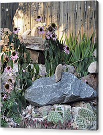 Acrylic Print featuring the photograph Landscape Formations by Minnie Lippiatt