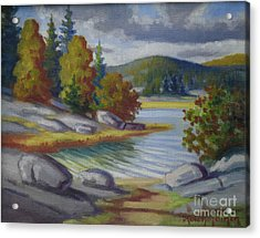 Landscape From Finland Acrylic Print