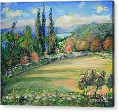 Landscape From Kavran Acrylic Print