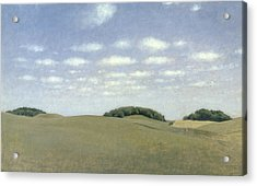 Landscape From Lejre Acrylic Print