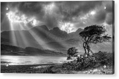 Acrylic Print featuring the photograph Landscape Scotland by Michalakis Ppalis