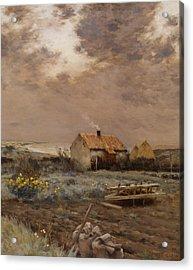 Landscape Acrylic Print by Jean Charles Cazin