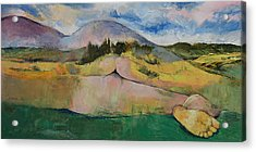 Landscape Acrylic Print by Michael Creese