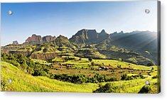 Landscape Near The Escarpment Acrylic Print