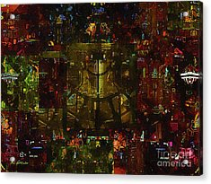 Landscape Of Hell Acrylic Print by RC deWinter