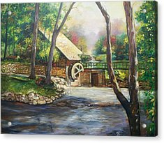 Landscape Of Love Acrylic Print by Emery Franklin