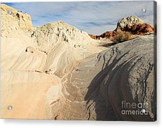 Landscape Swirls Acrylic Print by Adam Jewell