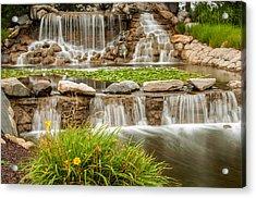 Landscape Waterfall Acrylic Print
