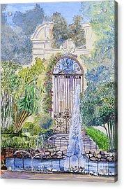 Landscaped Gardens Acrylic Print