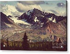 Landscapes On Denali Highway.alaska Acrylic Print