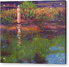 Langan Lake Reflections Acrylic Print
