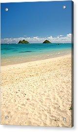 Lanikai Beach 2 - Oahu Hawaii Acrylic Print by Brian Harig
