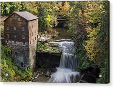 Lantermans Mill Acrylic Print by Dale Kincaid