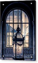 Lantern And Arched Window Acrylic Print