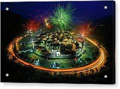 Lantern Festival Celebration Acrylic Print