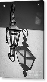 Lantern Reflection Acrylic Print