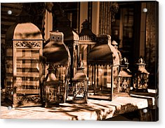 Lantern Acrylic Print by Tommytechno Sweden