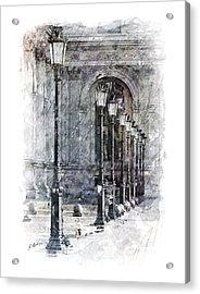 Lanterns Acrylic Print by Gary Bodnar