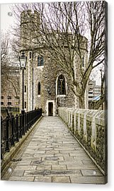 Lanthorn Tower Acrylic Print by Heather Applegate
