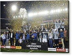 Lanus V Gremio - Copa Conmebol Libertadores 2017 Acrylic Print by Demian Alday