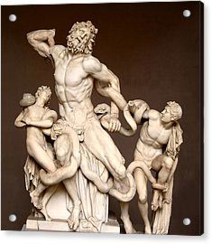 Laocoon And Sons Acrylic Print