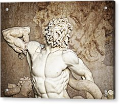 Acrylic Print featuring the photograph Laocoon by Joe Winkler