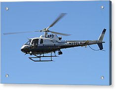 Lapd In Flight Acrylic Print