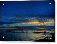 Lapis Sky Acrylic Print