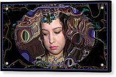 Lapislazuli Beauty Acrylic Print