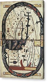Lapocalypse De Saint Sever. 11th C Acrylic Print by Everett