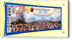 Large Banner 15x4 Acrylic Print