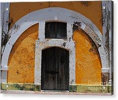 Large El Morro Arch Acrylic Print