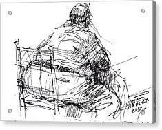 Large Guy Acrylic Print by Ylli Haruni