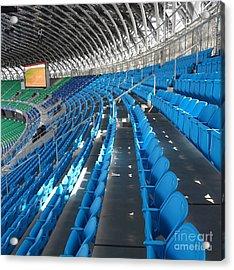 Large Modern Sports Facility Acrylic Print by Yali Shi