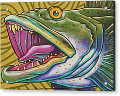 Large Mouth Fish Acrylic Print