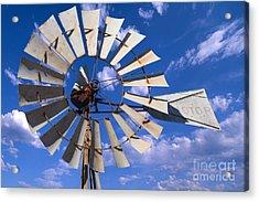 Large Windmill Acrylic Print