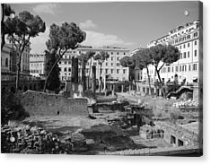 Acrylic Print featuring the photograph Largo Di Torre - Roma by Dany Lison