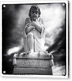 Larry Acrylic Print by John Rizzuto