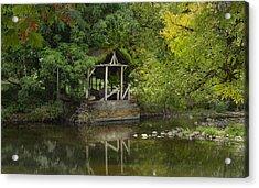 Larwood Covered Bridge Park Acrylic Print