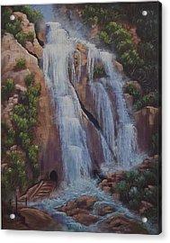 Las Brisas Falls Huatuco Mexico Acrylic Print